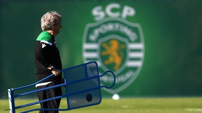 Trainer Jorge Jesus stellt mit Sporting Lissabon den Reise-Rekord im Europapokal ein
