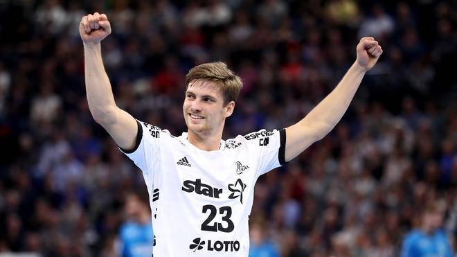 Rune Dahmke war mit neun Toren bester Werfer des THW Kiel