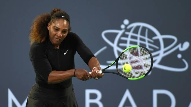 Serena Williams gibt ihr Comeback auf der Tennis-Tour