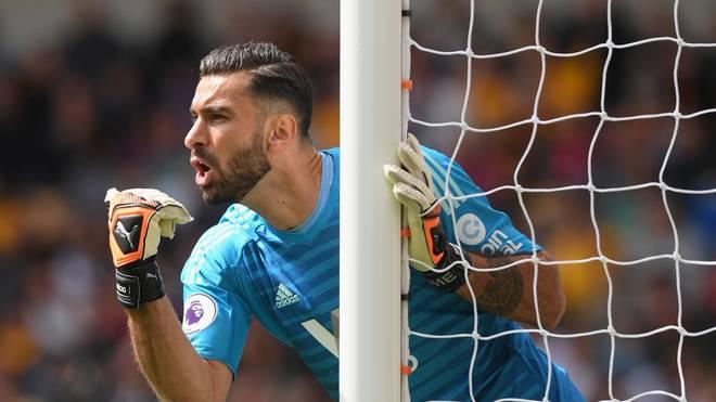 Rui Patricio unterschrieb bei den Wolverhampton Wanderers einen Vertrag bis 2022