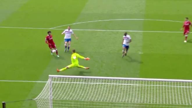 Mohamed Salah vergab gegen Stoke eine Großchance