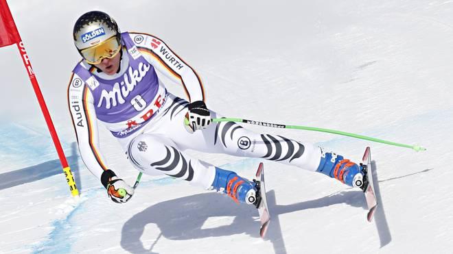 Ski alpin: Thomas Dreßen nach Kreuzband-OP zuversichtlich, Für Thomas Dreßen ist die Saison nach einem schweren Sturz beendet