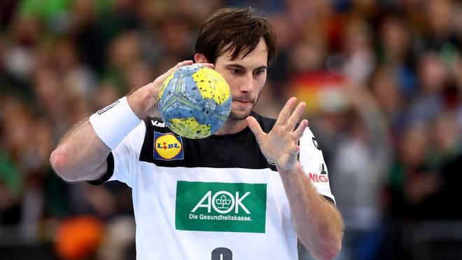 Uwe Gensheimer führt bei der Handball-WM die deutsche Mannschaft als Kapitän an
