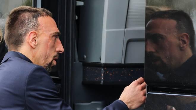 Franck Ribery geriet nach dem Topspiel der Bayern in Dortmund offenbar mit einem TV-Experten aneinander