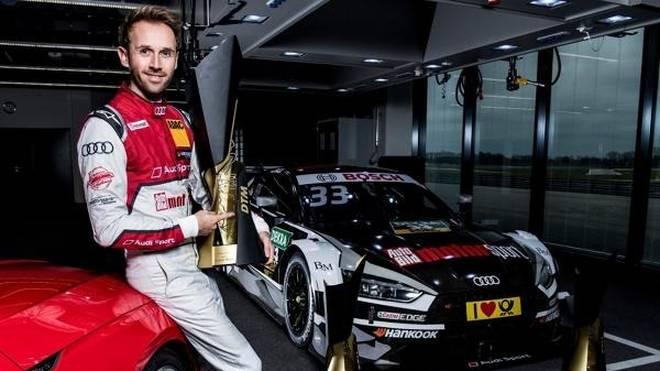 Audi-Fahrer Rene Rast will 2018 seinen DTM-Titel verteidigen