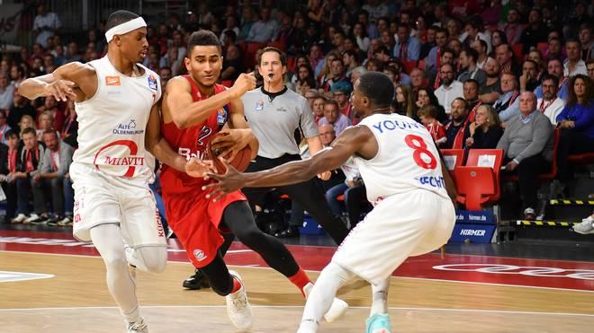Mit Olympiakos Piräus wartet ein harter Brocken für die Bayern-Basketballer