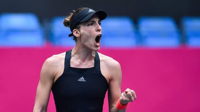 Andrea Petkovic hat überraschend Julia Görges aus dem Turnier geworfen