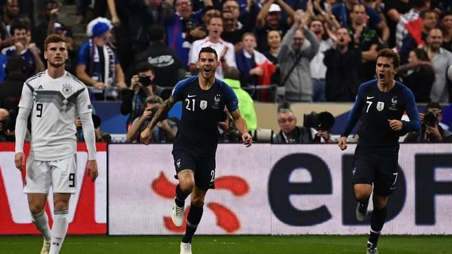 Antoine Griezmann besiegelte mit einem Doppelpack die sechste DFB-Niederlage in diesem Jahr