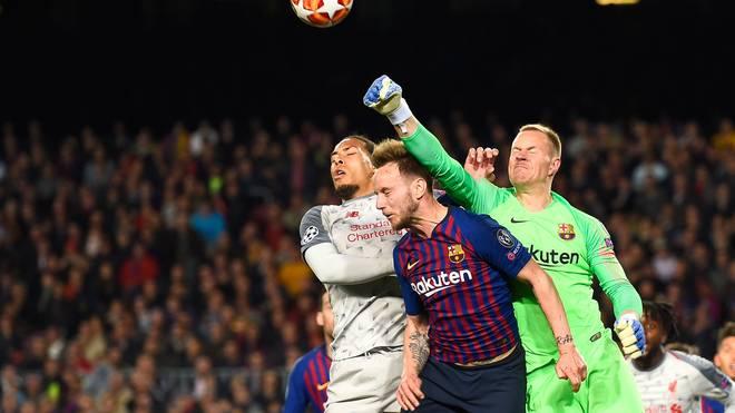 Marc-André ter Stegen parierte gegen Liverpool mehrfach glänzend