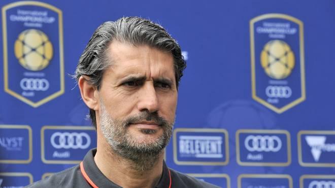 Jose Luis Caminero  war Manager von Atletico Madrid