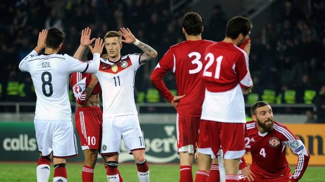 Em Qualifikation Gruppe D Georgien Deutschland