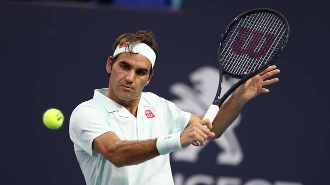 big sale c03fd 3c072 Tennis  Roger Federer erreicht Finale von Miami gegen John Isner