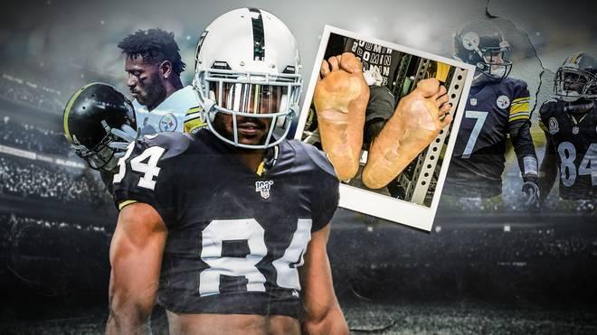 Antonion Brown sorgt seit seinem Wechsel von den Pittsburgh Steelers zu den Oakland Raiders immer wieder für Wirbel