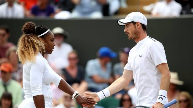 Wimbleodn: Andy Murray und Serena Williams sind im Mixed ausgeschieden