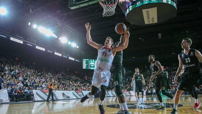 Leon Radosevic machte acht Punkte für die Bayern-Basketballer in Istanbul