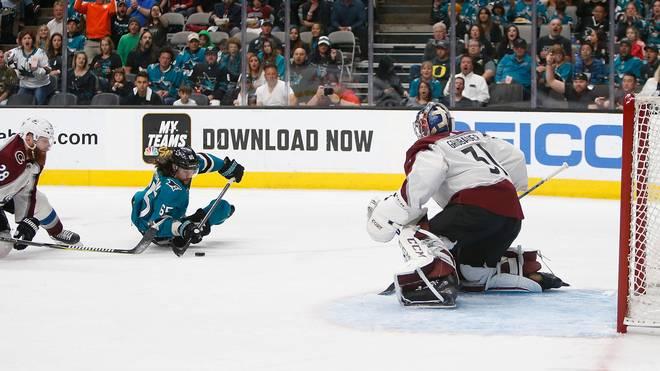 Colorado Avalanche v San Jose Sharks - Game Two