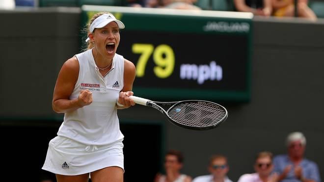 Angelique Kerber trifft im Halbfinale von Wimbledon auf Jelena Ostapenko