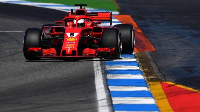 Formel 1 Deutschland GP - Sebastian Vettel