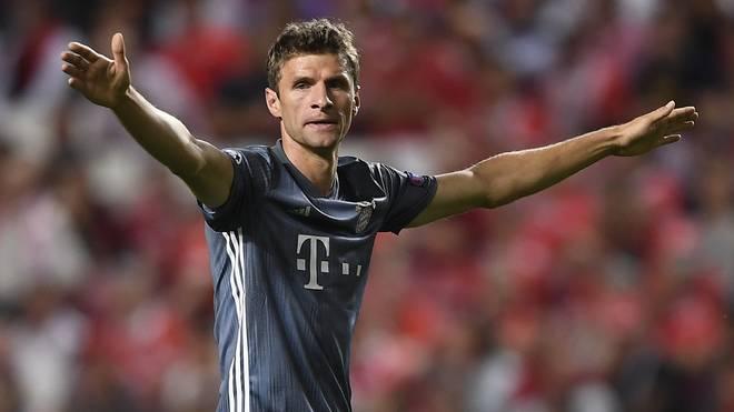 Champions League: Thomas Müller vom FC Bayern mit 100. Spiel