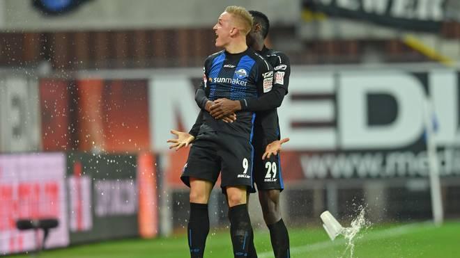 Kai Pröger erzilete den Ausgleich für den SC Paderborn gegen Holstein Kiel