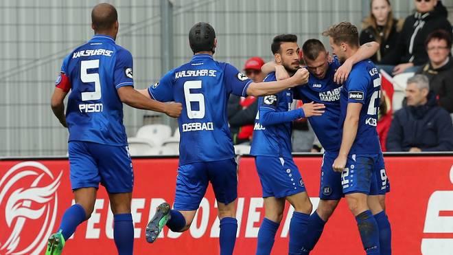FC Energie Cottbus v Karlsruher SC - 3. Liga
