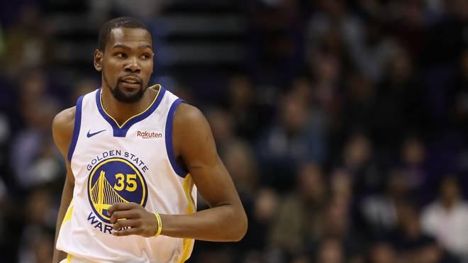 NBA: Golden State Warriors schlagen Memphis Grizzlies - Durant mit Rekord