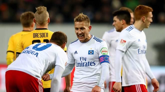 Lewis Holtby erzielte sein viertes Saisontor für den Hamburger SV