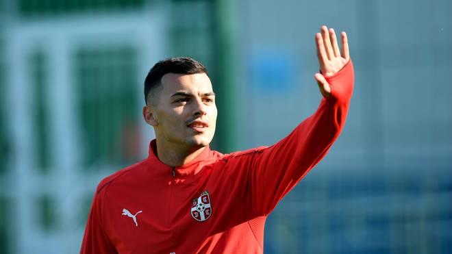 Nemanja Radonjic spielt für Roter Stern Belgrad