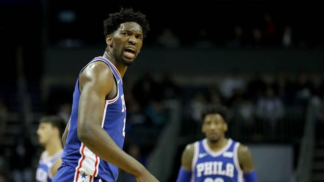Philadelphia 76ers v Charlotte Hornets