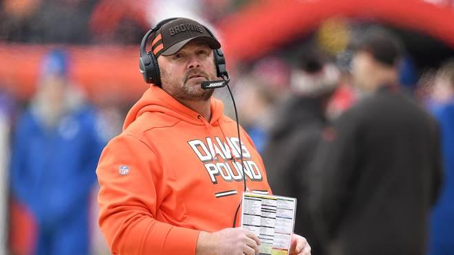 Freddie Kitchens ist neuer Cheftrainer der Cleveland Browns