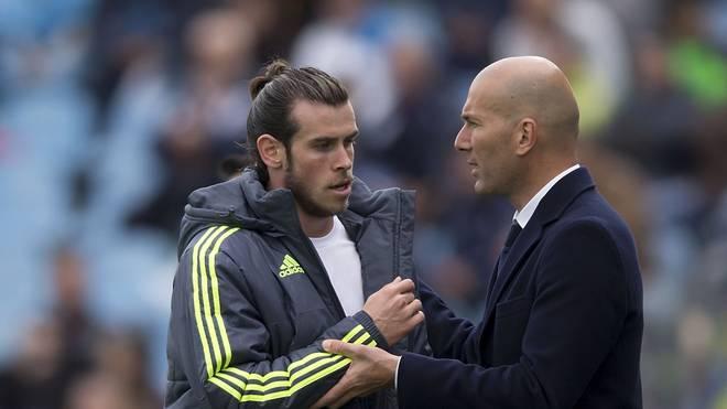 """Zidane: Bale """"kurz vor Abgang"""""""
