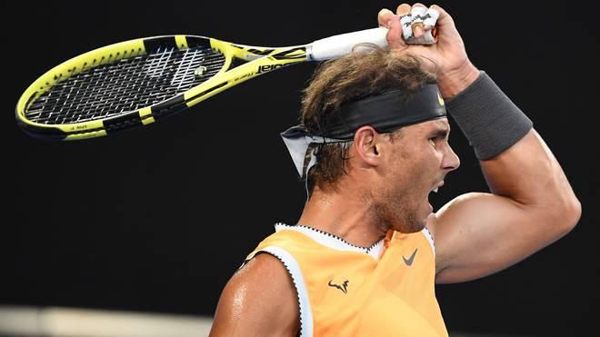 Rafael Nadal steht bei den Australian Open im Achtelfinale