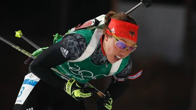 Biathlon: Laura Dahlmeier verpasst Mixed-Staffel in Pokljuka