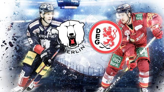 Am letzten Hauptrundenspieltag erwarten die Eisbären Berlin die Düsseldorfer EG