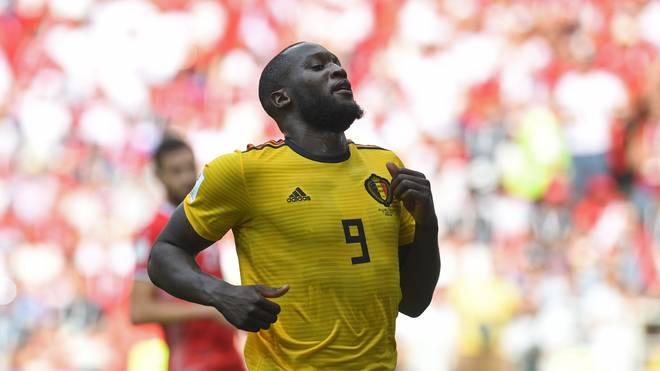 Romelu Lukaku traf bei dieser WM bereits viermal für Belgien