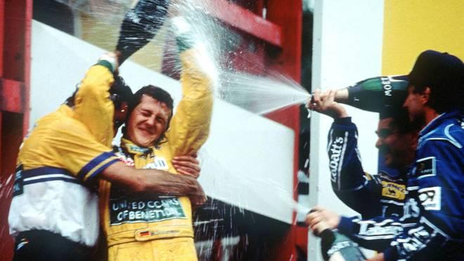 Vor 25 Jahren feierte Michael Schumacher seinen ersten Formel-1-Sieg in Spa