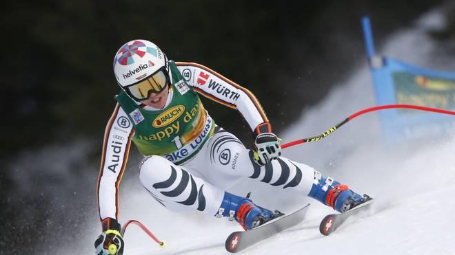 Viktoria Rebensburg erfüllte mit ihrem dritten Platz die WM-Norm