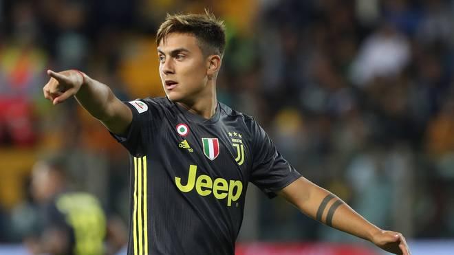 Paulo Dybala spielt seit 2015 bei Juventus Turin
