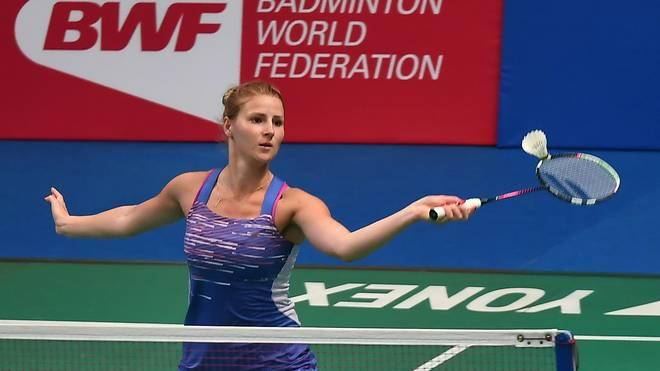 Fabienne Deprez gewann ihr WM-Aufaktspiel