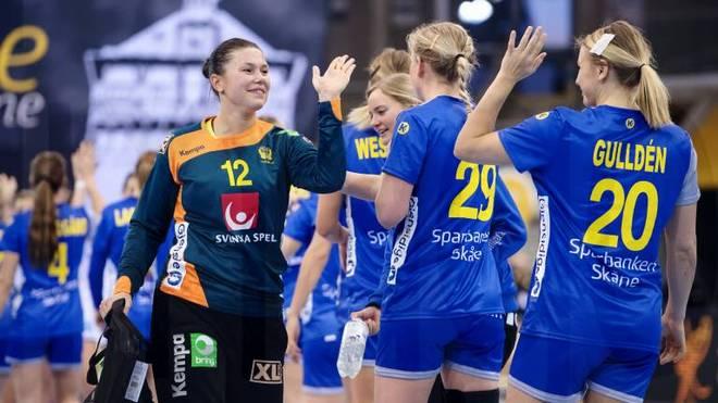 Schweden steht bei der Handball-WM im Achtelfinale