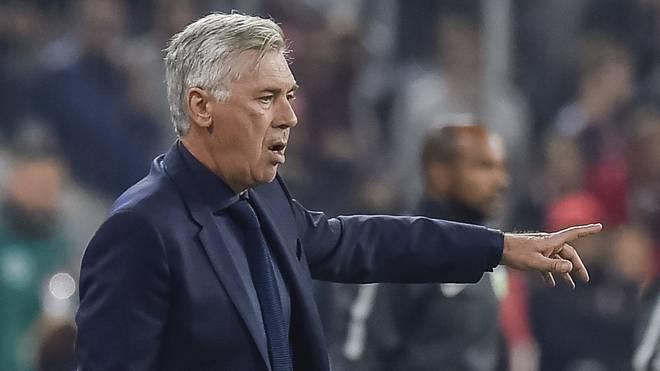 Carlo Ancelotti wechselte zur neuen Saison zum SSC Neapel