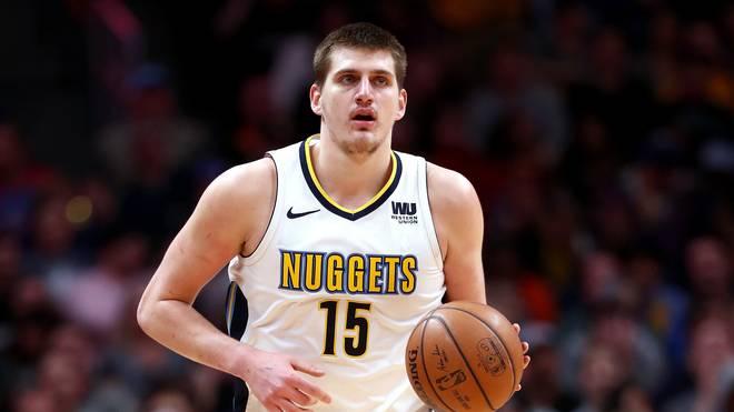 Nikola Jokic spielt bei den Denver Nuggets