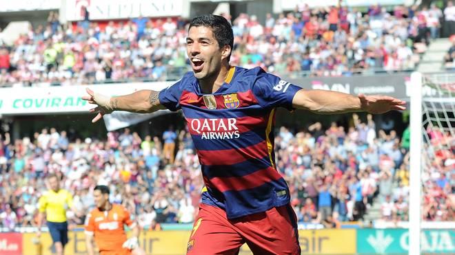 Luis Suarez beim Torjubel