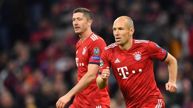 Arjen Robben spielt womöglich seine letzte Saison beim FC Bayern, sein Vertrag endet 2019