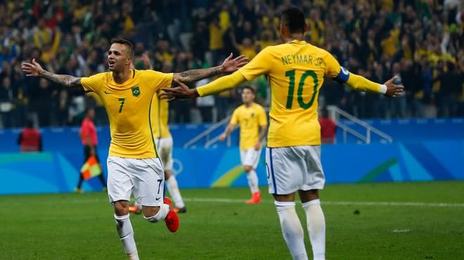 Brazil v Colombia Quarter Final: Men's Football - Olympics: Day 8