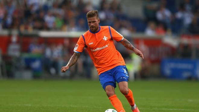 Tobias Kempe traf in Sandhausen per Elfmeter für Darmstadt 98