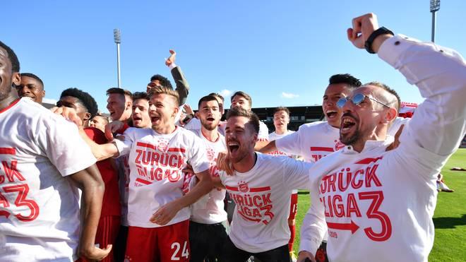 FC Bayern II steigt in die 3. Liga auf