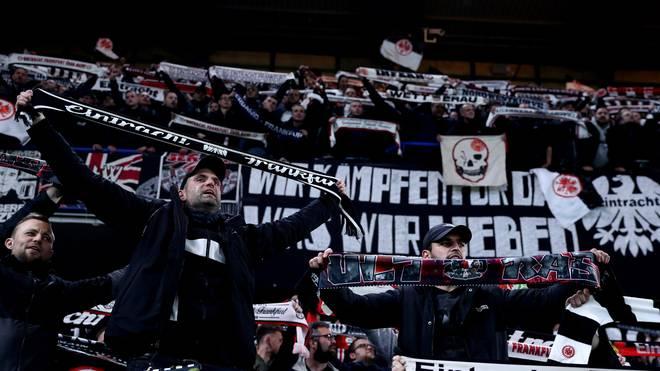 Europa League: Eintracht Frankfurt verkauft 40.000 Dauerkarten, Die Fans von Eintracht Frankfurt stehen bedingungslos hinter ihrem Team