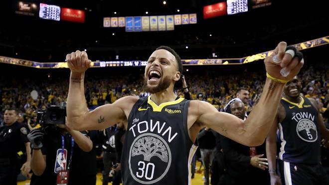 Steph Curry führt die Warriors zum zweiten Sieg gegen Portland