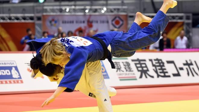 Szaundra Diedrich (oben) gewann den Grand Prix in Tiflis